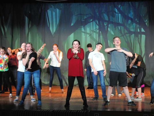 The Pit Orchestra is used for musicals such as this KHS performance of The Addams Family