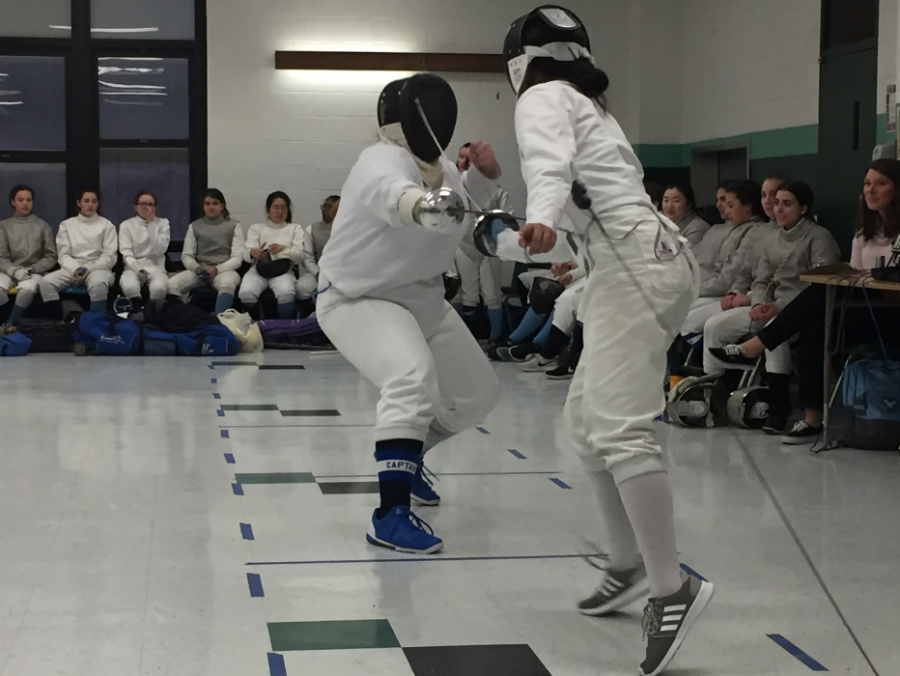 Kinnelon Takes a Stab at Fencing