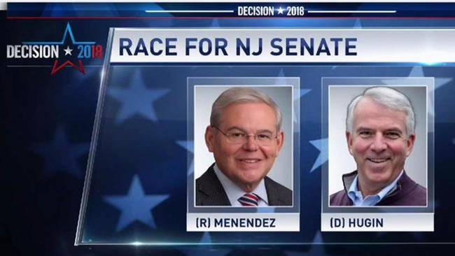 In+the+midterm+elections%2C+Bob+Menendez+of+the+Democratic+Party+will+run+against+Bob+Hugin+of+the+Republican+party+for+one+seat+on+the+United+States+Senate+representing+New+Jersey.