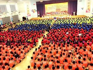 Teachers' Day Celebrations in Nan Hua, 2014.