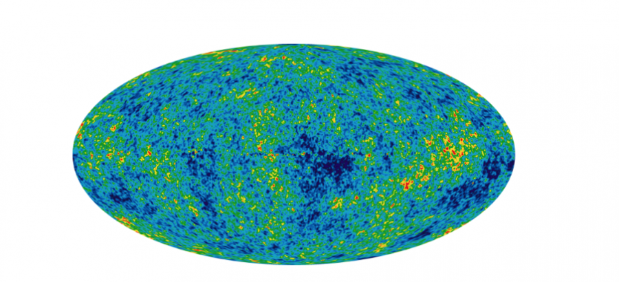 Nine years of cosmic microwave background radiation.