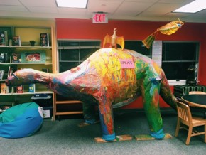 Creatures in the Kinnelon Library