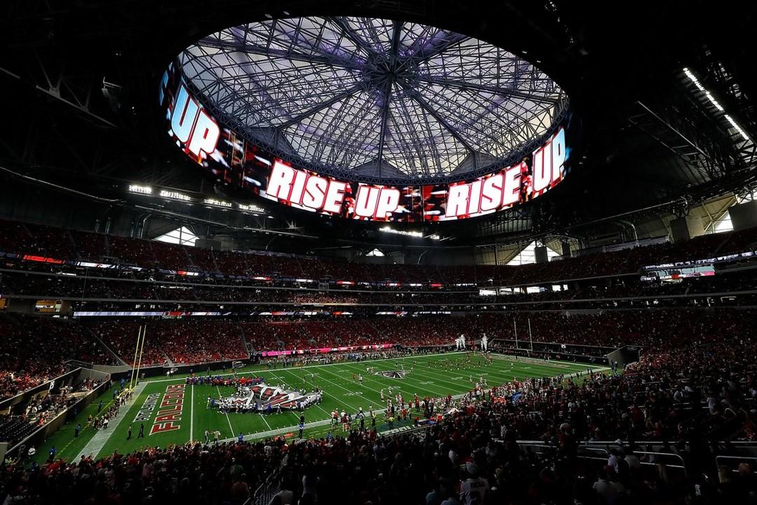 The Superbowl LIII Stadium. Photo courtesy of NFL.