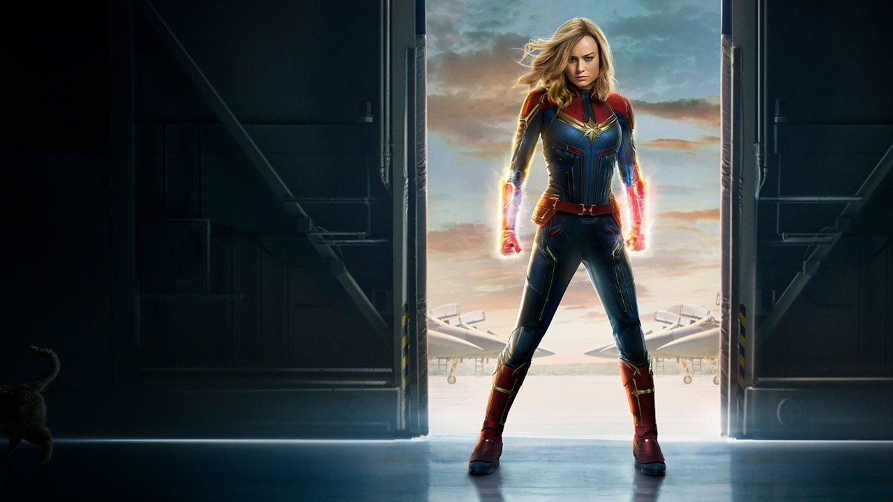 The Captain Marvel poster. Photo courtesy of IGN.