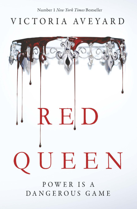 The Red Queen: red on the outside, silver in the heart