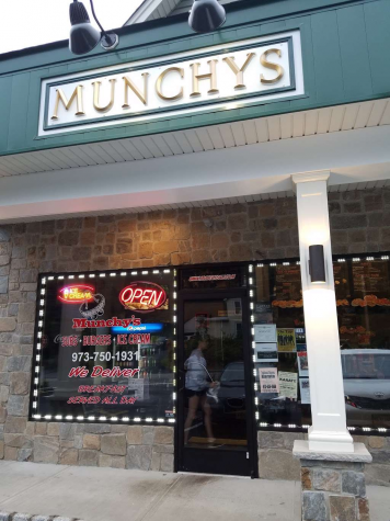 The outside of Munchys, which was located off of Boonton Ave.