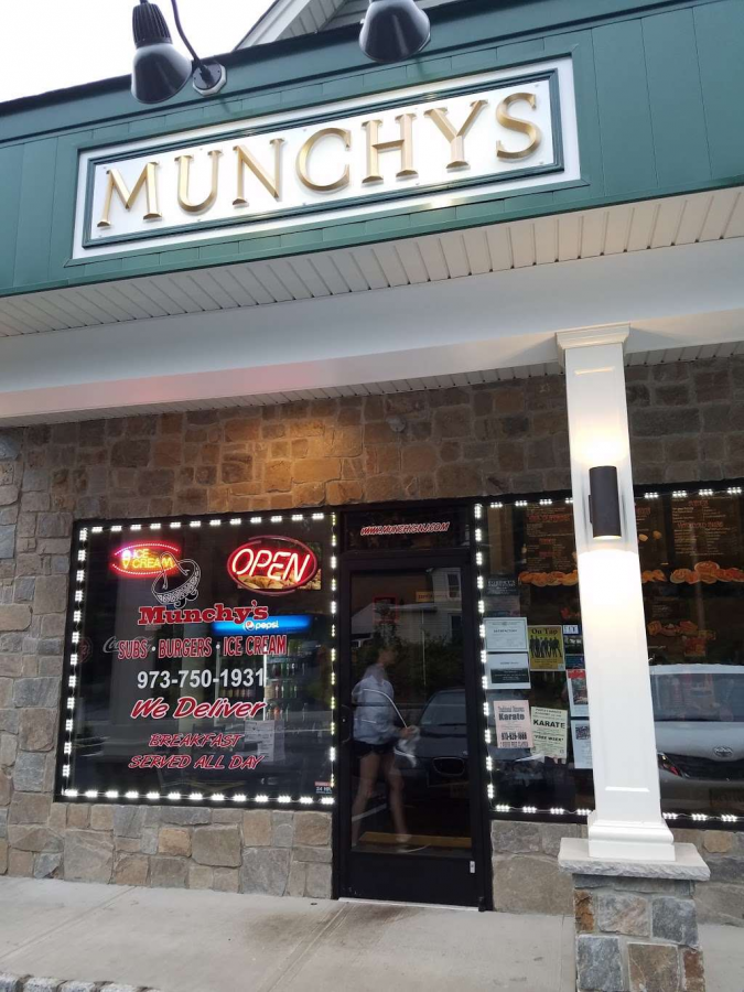 The+outside+of+Munchys%2C+which+was+located+off+of+Boonton+Ave.