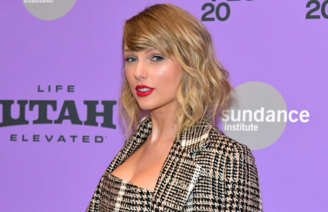 Taylor Swift at the 2020 Sundance Film Festival, promoting  Miss Americana