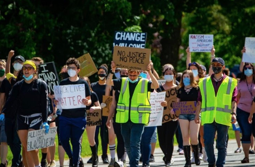 Kinnelon Community Members Support 'Black Lives Matter' Movement