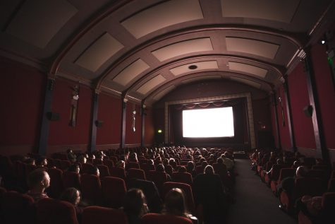 A pre-COVID movie theater via Unsplash.