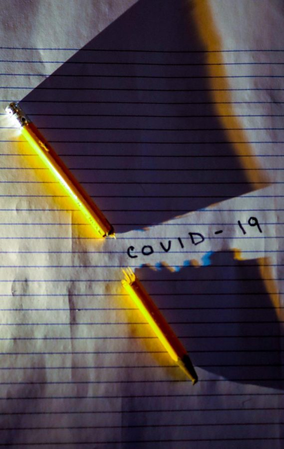 Image representing the impact of COVID-19 on education.