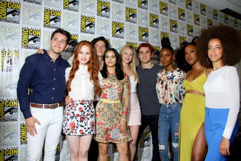 Image from Shutterstock. The cast of Riverdale at Comic-Con