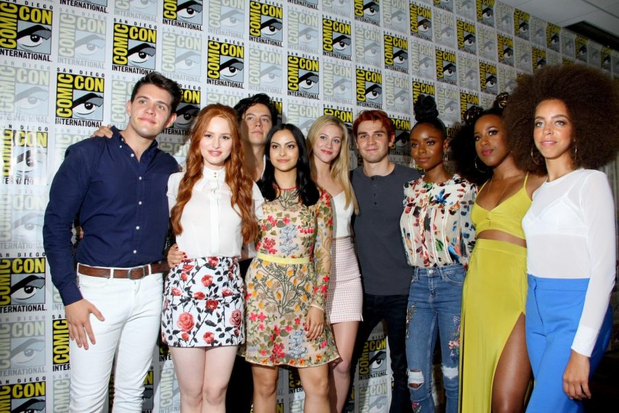 Image+from+Shutterstock.+The+cast+of+Riverdale+at+Comic-Con