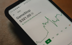 Image from Unsplash. Photo of GME stock fluctuation as a result of the short squeeze.