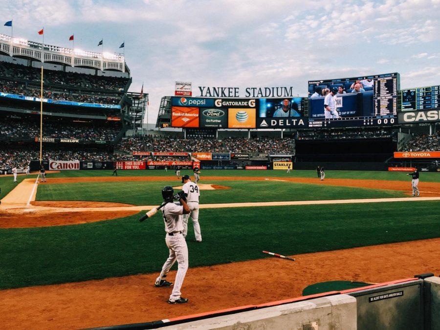 Yankees game before COVID.